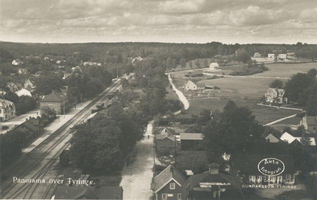 Tyringe-vykort
