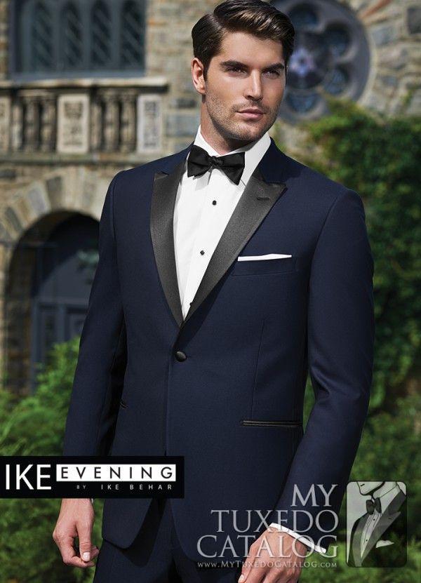 Navy 'Blake' Tuxedo from http://www.mytuxedocatalog.com/catalog/rental-tuxedos-and-suits/c1015-navy-blake-slim-tuxedo/