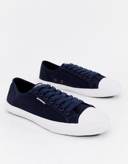 Superdry Low Pro sneaker in navy