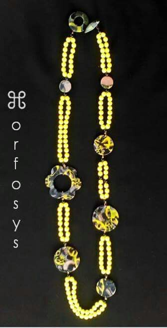Handmade necklace  Sole piece / Made in Italy