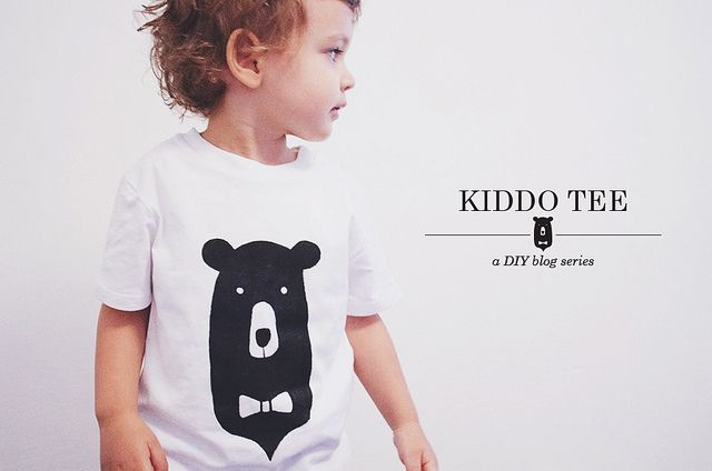 kiddo tee DIY + free printable | oana befort