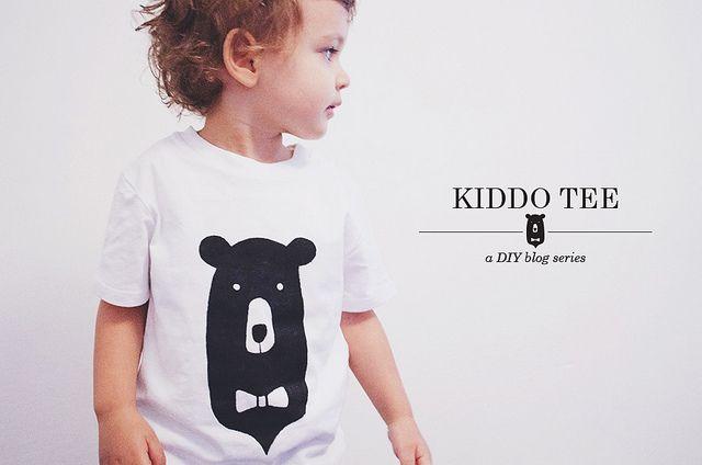 kiddo tee DIY + free printable | oana befort