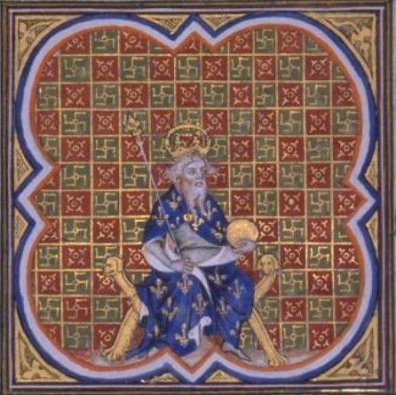 Karel V,След.заботой Карла стало прекр. войны и осв.отца.Умело затяг.перегов.и сбор денег для выкупа,дофин сумел свести на нет катастр.для терр-ной целос-сти Фр.так назыв.1вый и 2рой Лонд. миры (01.1358 и 03.1359),подпис.пленен. Иоанном II.Разъяр.Эдуард III лично возгл.очеред.набег на Фр.,законч.для англичан неудачей:генерал.сраж.франц. так и не приняли,деморализ.англ.армия была способна только к грабежам и насилиям.8.05.1360г.дофин Карл и Эдуард Чёрный принц согл.в Бретиньи усл. «вечного…