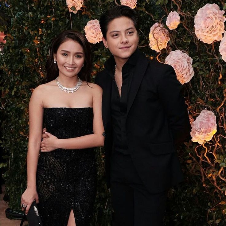 This is the handsome Daniel Padilla and the pretty Kathryn Bernardo smiling for the camera while striking a pose at the red carpet at the 2016 Star Magic Ball held last October 22, 2016 at the Shangri-La Hotel in Makati City. Indeed, KathNiel is my favourite Kapamilya love team, and they're amazing Star Magic talents. #KathrynBernardo #TeenQueen #DanielPadilla #KathNiel #KathNielBernaDilla #StarMagicBall #StarMagicBall2016
