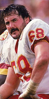 Russ Grimm.  One of the original HOGS of the Redskins and recent inductee in the the Pro Football Hall of Fame. He owns a home in Corolla and is one of the humblest and nicest folks I've had the pleasure of meeting.