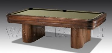 8ft Aspen American Pool Table - The Aspen American Pool Table one of the few brand-new true American pool tables in existence, built in Texas by US manufacturing juggernaut Connelly Billiards. Constructed from solid hardwood cabinets and cross beams, it's designed in a contemporary style to the highest quality standard, with several pioneering features to put it ahead of its competition.