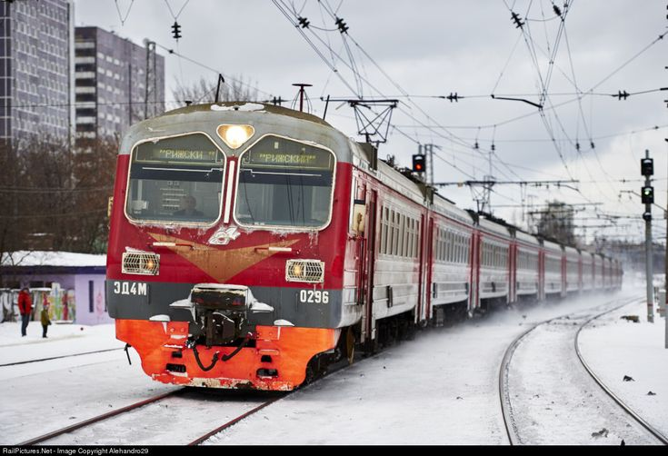 RailPictures.Net Photo: ED4M-0296 Russian Railways ED4M at Moscow, Russia by Alehandro29