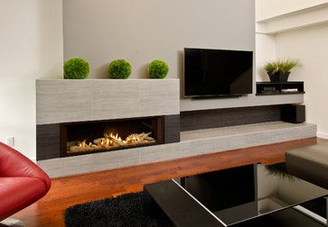 L2 Linear Series Fireplace - modern - fireplaces - vancouver - Valor Fireplaces