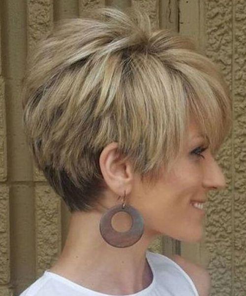 Exquisite Short Choppy Hairstyles 2018 for Women