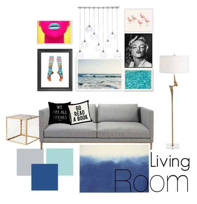 """Untitled #20"" by nhitasheilota on Polyvore featuring interior, interiors, interior design, home, home decor, interior decorating, Nate Berkus, CB2, 1000Museums and West Elm"