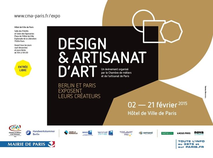 exposition design artisanat d 39 art berlin et paris exposent leurs cr ateurs du 2 au 21. Black Bedroom Furniture Sets. Home Design Ideas