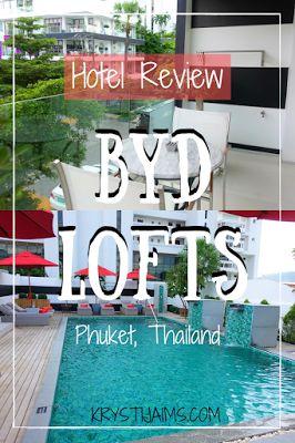 A perfect stay at BYD Lofts, Phuket