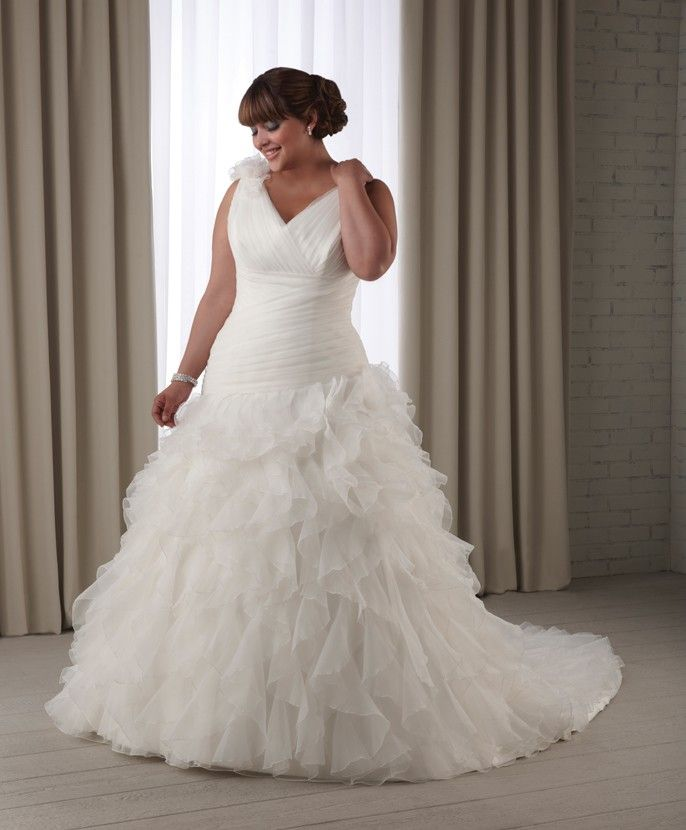 Trendy Dress style From the uUnforgettable u plus size collection by Bonny Bridal