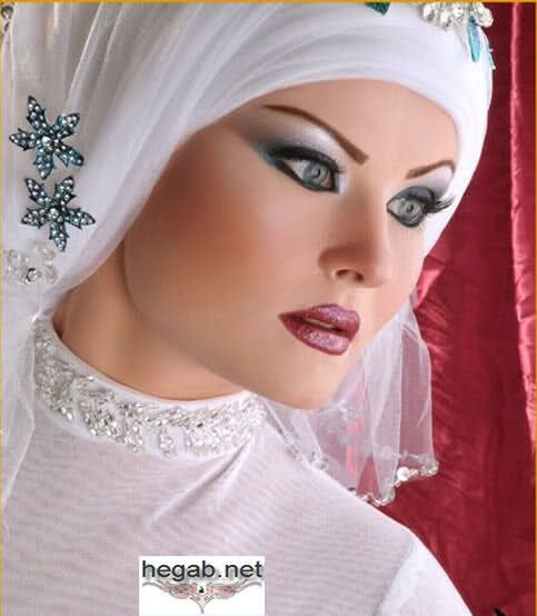 Muslim Wedding Makeup : 1000+ images about Egyptian Muslim brides on Pinterest ...