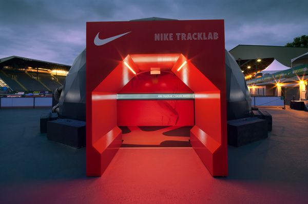 NIKE TRACK LAB by Jeffrey Docherty, via Behance