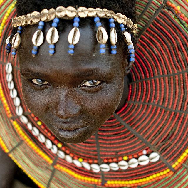 A tribal woman in #Uganda Adventures in Missions www.adventures.org World Race www.worldrace.org