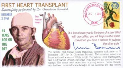First Heart Transplant