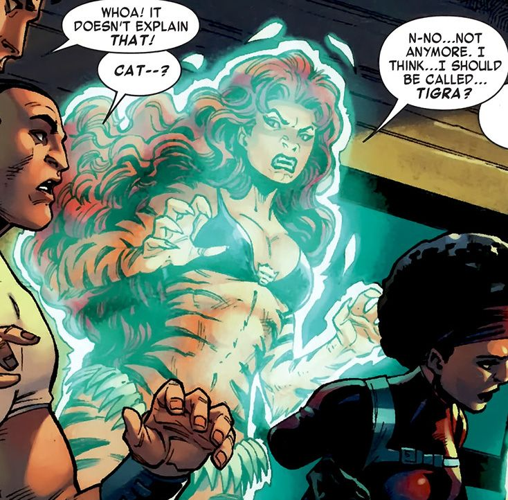 Marvel Tigra Son 26 best images ...