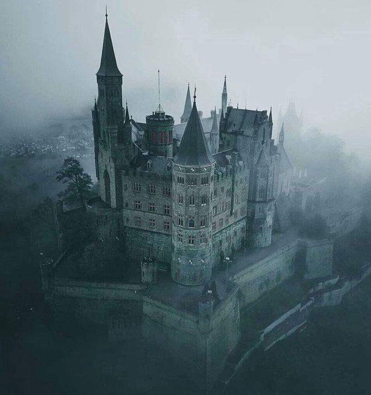 Medieval Castle Dark Ireland In 2020 Hohenzollern Castle Medieval Castle Fantasy Castle