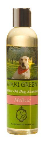 PoshCo Nikki Green Olive Oil Dog Shampoo with Lemon Balm Essential Oils 8Ounce *** Read more  at the image link. (Note:Amazon affiliate link)