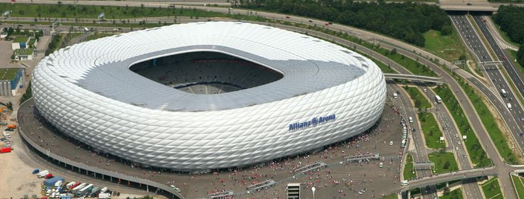 Allianz Arena in Munich - home of the Bayern-München Soccer Club