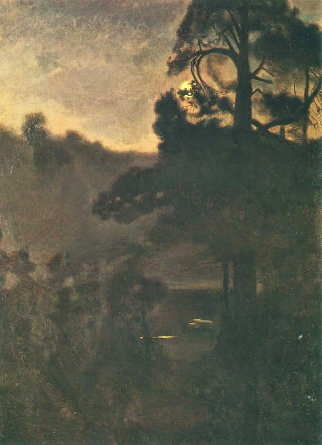 Le Prince Lointain: Józef Chełmoński (1849-1914), Noc księżycowa.