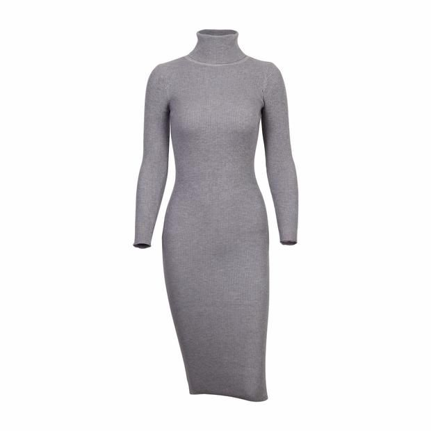 Slim Sweater Dress