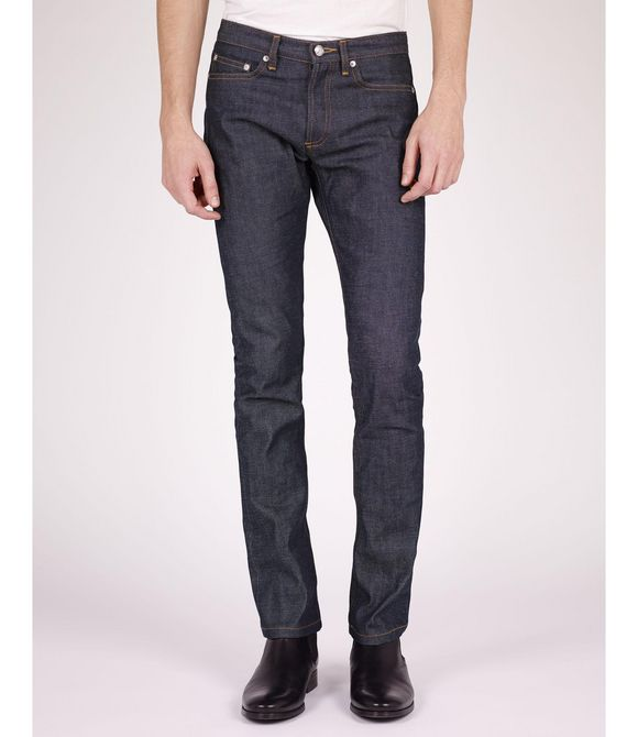 A.P.C. New Cure jeans - Standard skinny blue jeans. Must have.