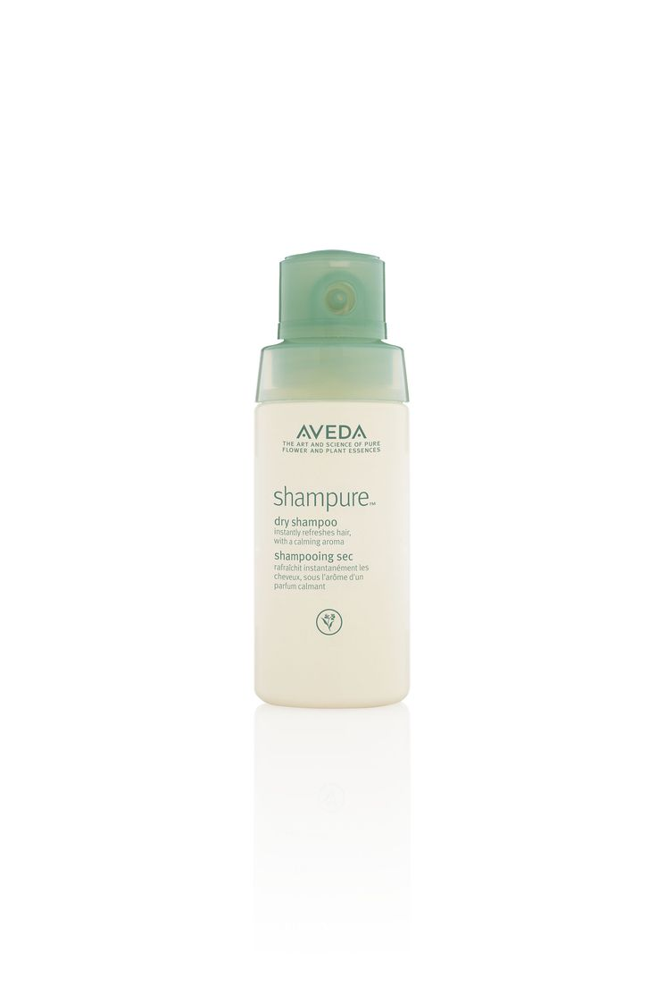 """""""To freshen up your hair, I recommend applying Shampure Dry Shampoo in three sections: the crown, and one on either side of a heavy part."""" -Aveda Artist Allen Ruiz"""