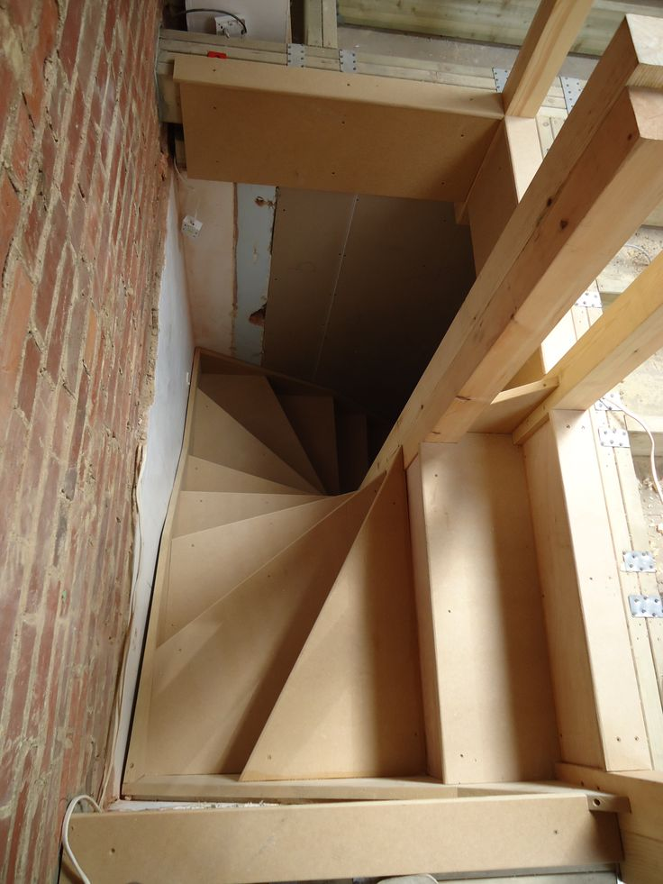 114 best attic images on pinterest for Spiral staircase options