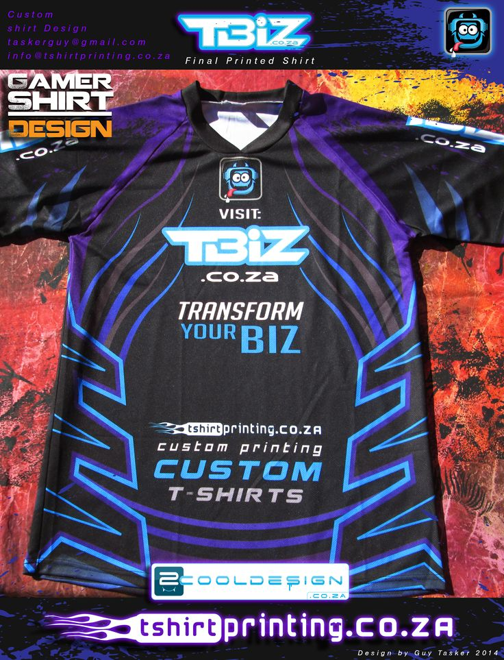 tshirt printing,gamer shirt design,cool printed shirt, all over shirt printing, sublimation printing South africa