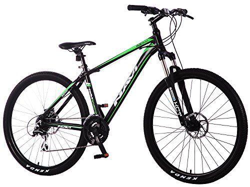 Navi RS500 Hardtail Mountain Bike Aluminum Alloy Frame Disc Brakes Shimano Acera 24speed 275 Wheel Mountain Bike ** Click image for more details.