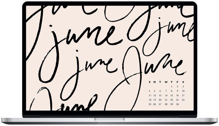 Free June 2017 Desktop Wallpaper / Desktop Background / Dress Your Tech / Rebekah Disch Design