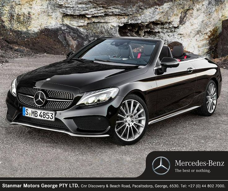 The #MercedesBenz C-Class makes driving with the top down all year round a reality with innovative design that keeps both driver and passengers comfortable. Contact #TeamStanmar on 044 802 7000 to book your test drive.