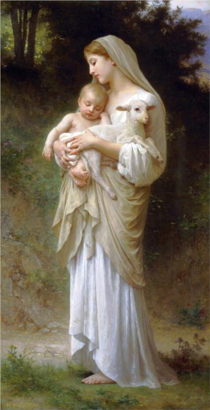 Innocence - William Adolphe Bouguereau