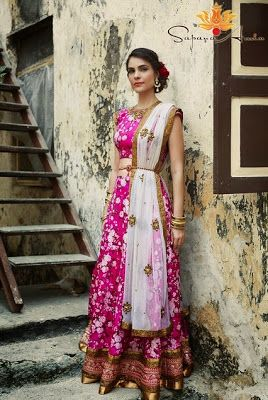 Happy Shaadi Seattle : South Asian Wedding Trend - Floral Print