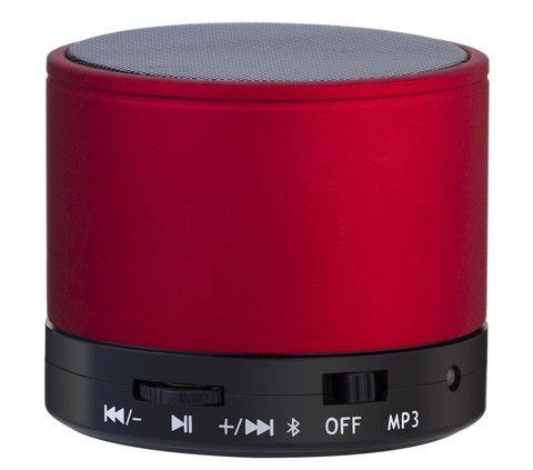 Bluetooth speaker in red