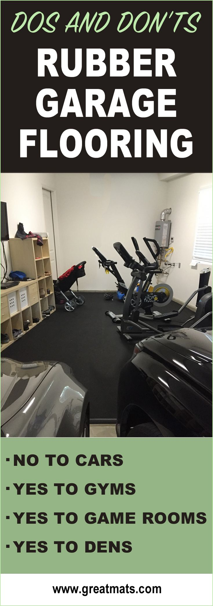 When Is The Right Time To Use Rubber Flooring In Your Garage?