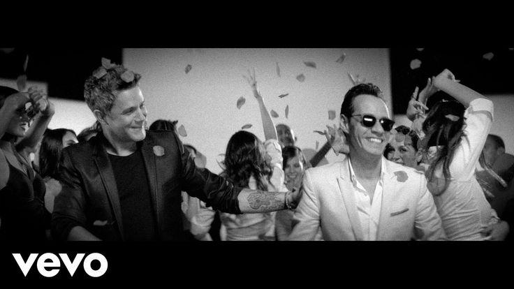 """Disfrutando del martes con """"Deja Que Te Bese"""" @AlejandroSanz ft. @MarcAnthony vía @raulillodiego"""