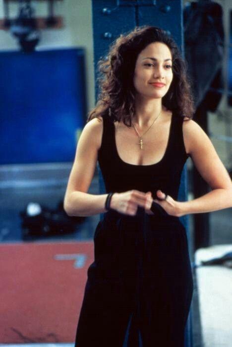 Jennifer Lopez in Money Train (1995). She looks like Leah ...