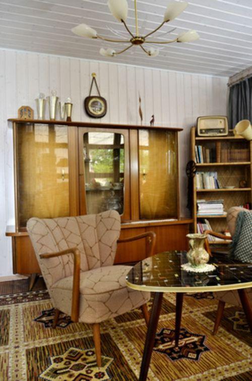 Tipps für den Retro Look im Wohnzimmer – #60er #d…