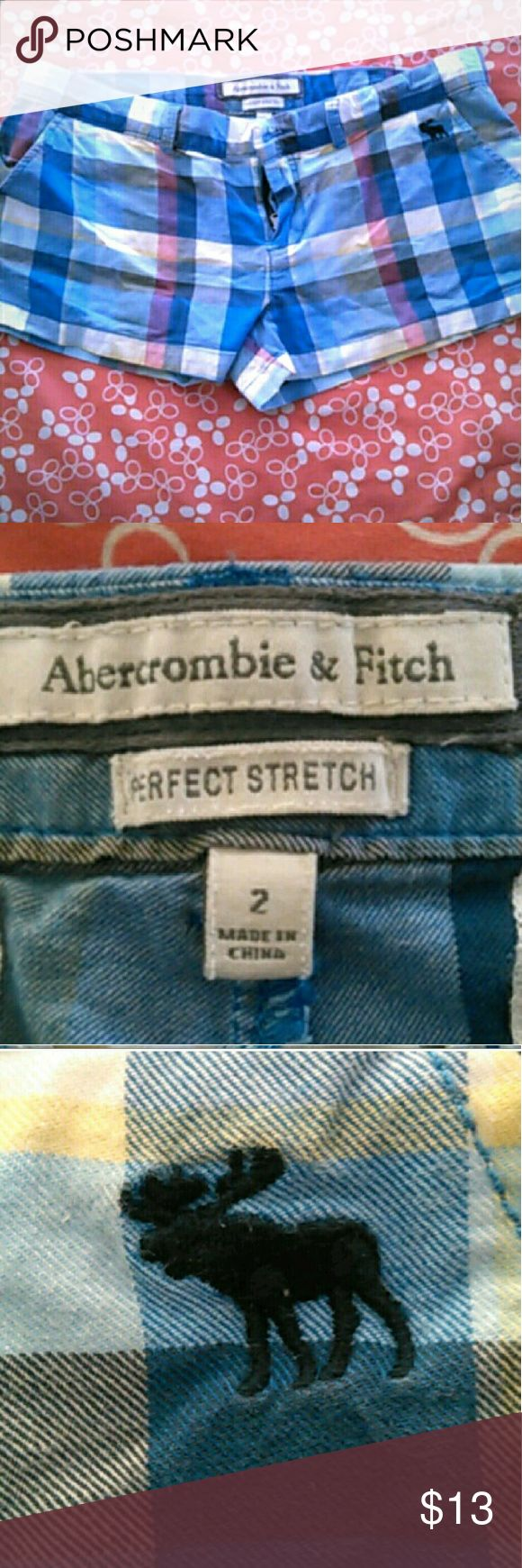Abercrombie And Fitch Shorts Size 2 Ambercrombie and Fitch Plaid Shorts, size 2 Abercrombie & Fitch Shorts