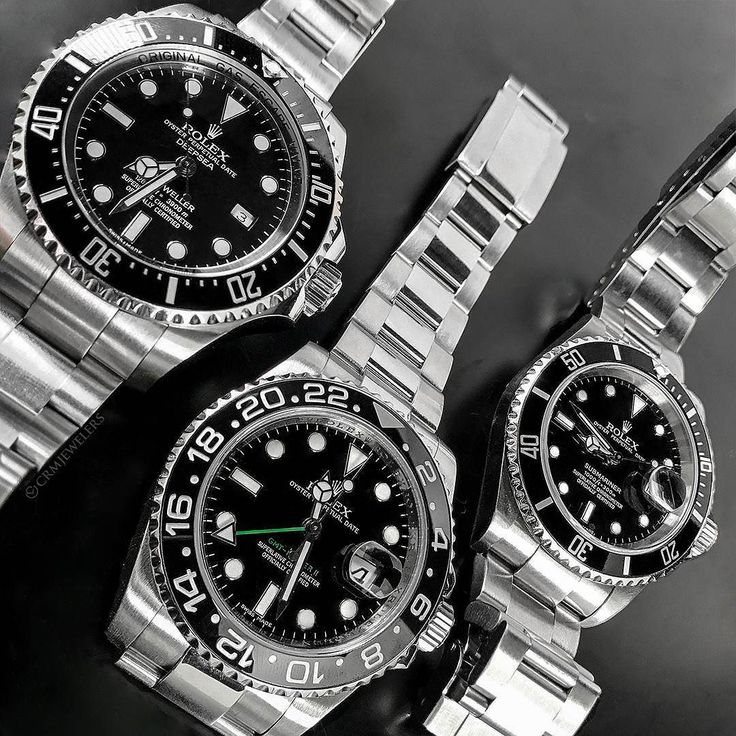 3 is my lucky number  Which is your Fave Rolex model of all time  $7900 Deepsea $6700 GMT $5500 Sub Call us for info