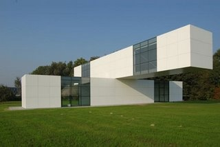 new exhibition space by conceptual artist Stanley Brouwn and architect Bertus Mulder - Utrecht, Holland