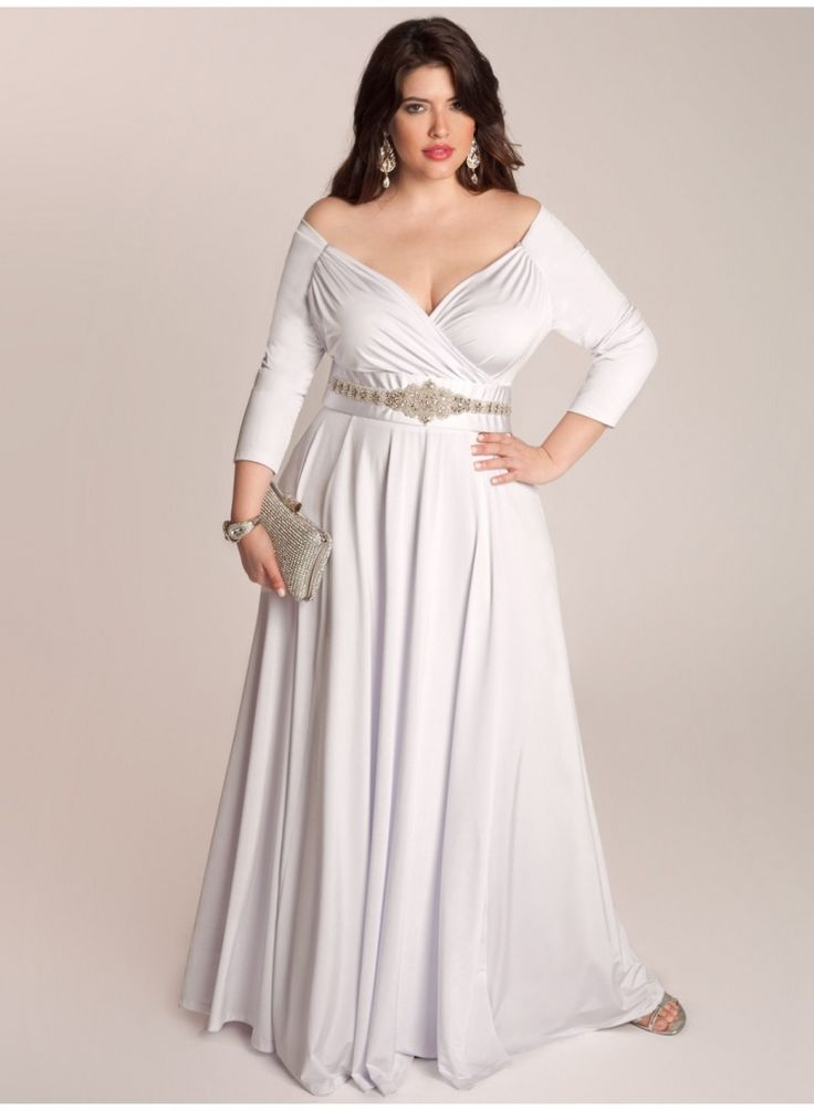 wedding dresses for plus size woman - best wedding dress for pear shaped Check more at http://svesty.com/wedding-dresses-for-plus-size-woman-best-wedding-dress-for-pear-shaped/