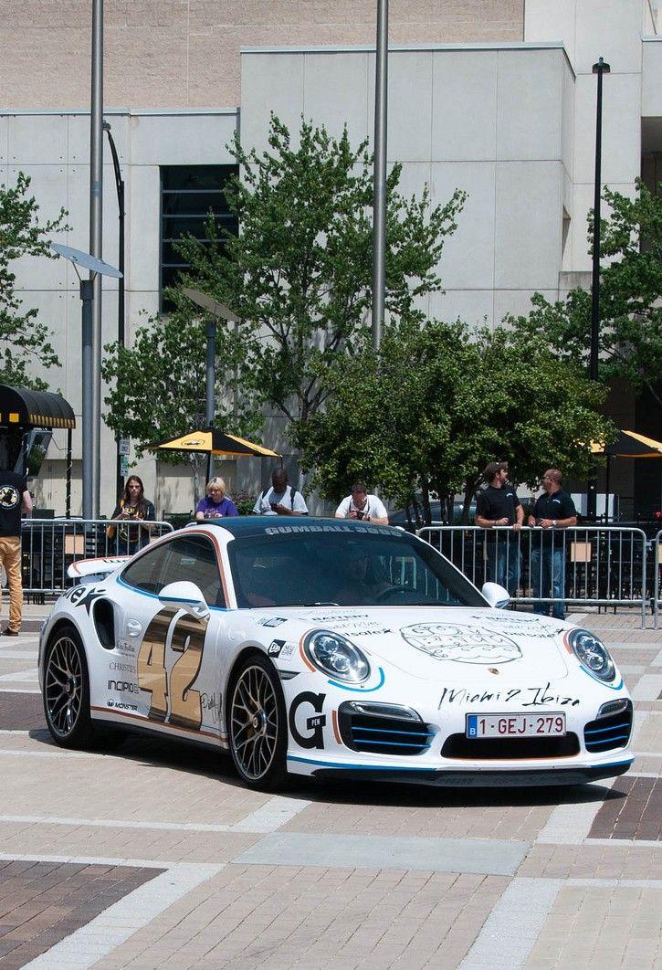 Look!  Look!  Look!       Porsche 911 Turbo Gumball 3000 (2014) #porsche #991