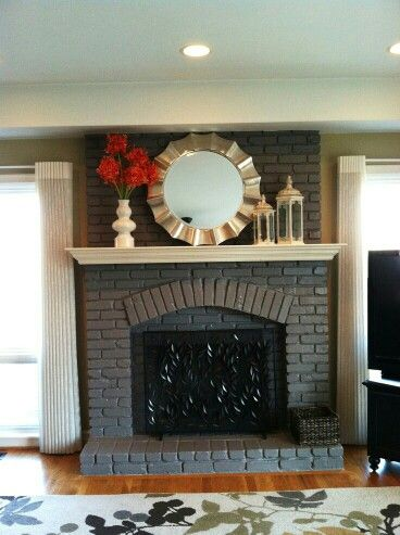 83 best Mantle Fireplace Inspirations images on Pinterest