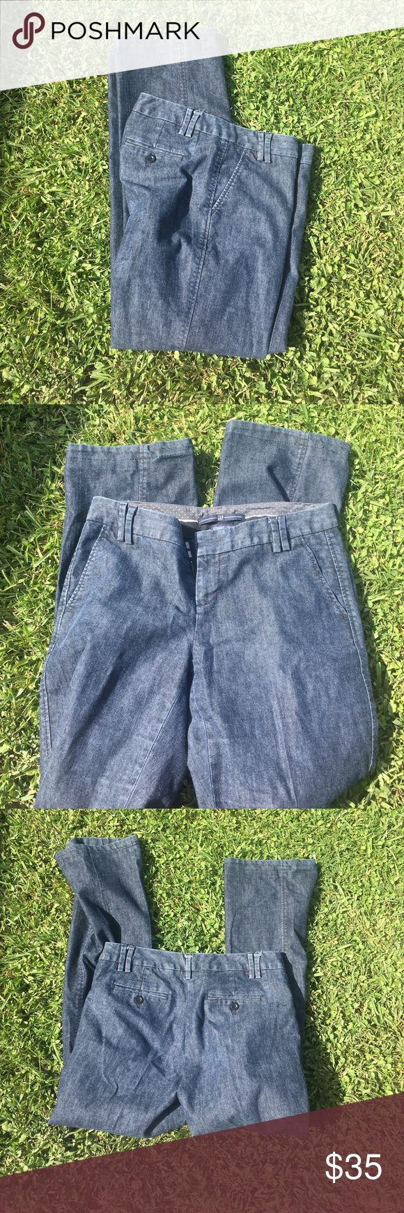 Gap Straight Leg Stretch Jeans Excellent condition. Dark denim. Worn handful of times. Straight leg. Has a stretch material. Stylish look. GAP Jeans Straight Leg