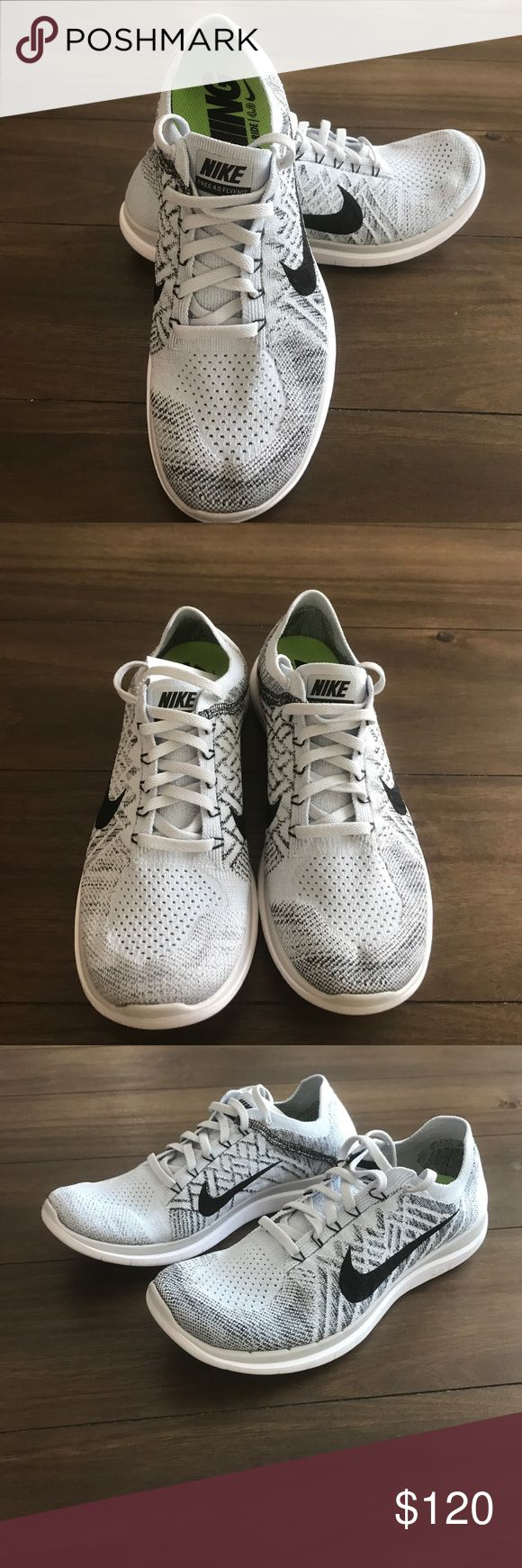 BRAND NEW NIKE FREE 4.0 FLYKNIT REALLY RARE COLOR TO FIND Brand new never  worn NIKE FREE 4.0 FLYKNIT RUNNING BAREFOOT RIDE they are a men's size 9  but fit ...