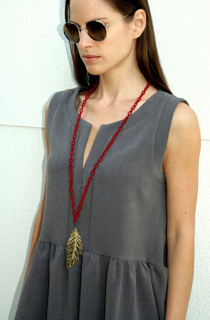 FIRR RED NECKLACE by V0R available at our e-shop